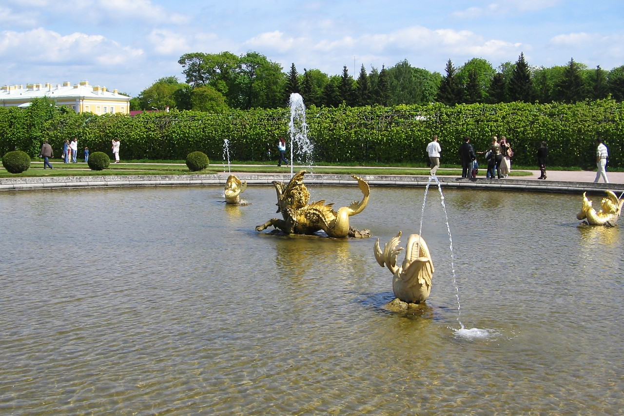 Fountain of Neptune, Peterhof Palace