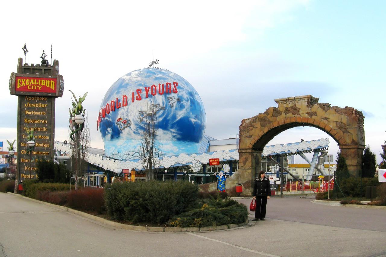 Excalibur City shopping and entertainment center, Czechia