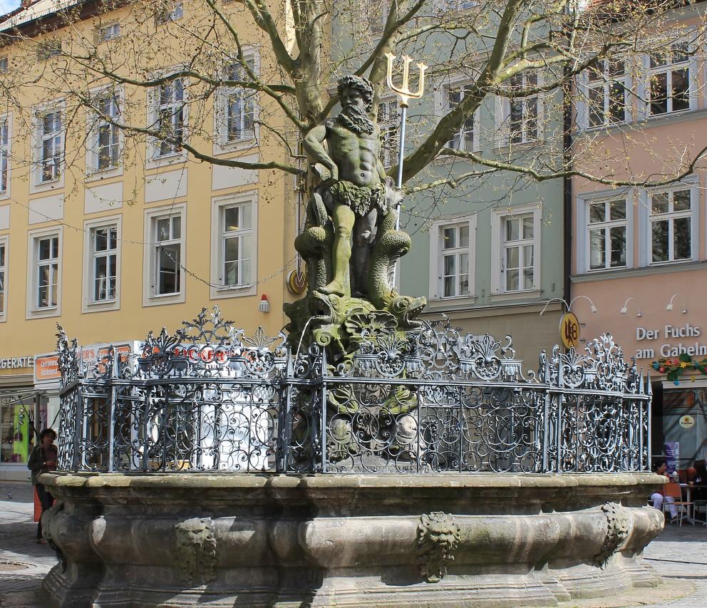 Neptune Fountain (Gabelmann), Bamberg