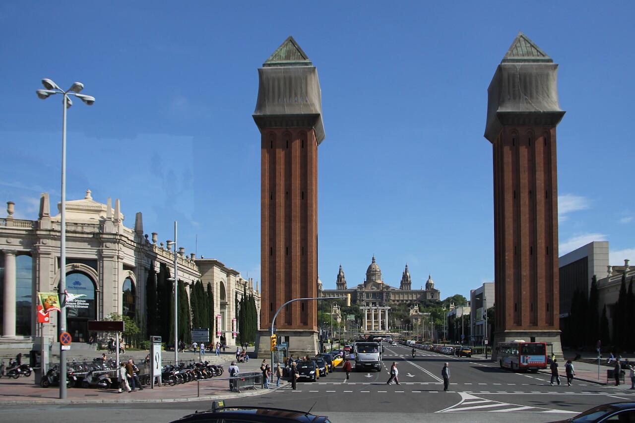 Venetian towers (Torres Venecianes), Barcelona