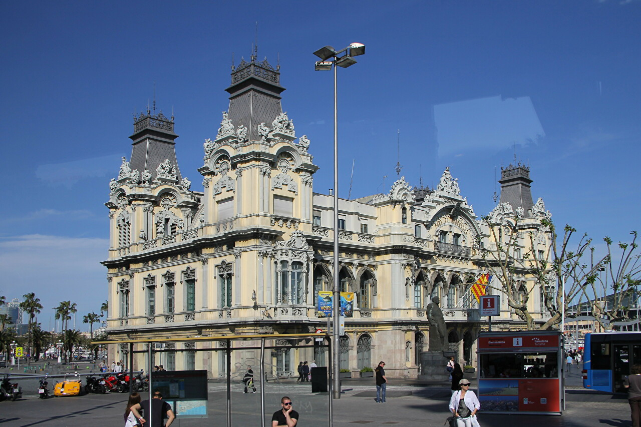 The building of the port authority (Admiral Historic Authority), Barcelona