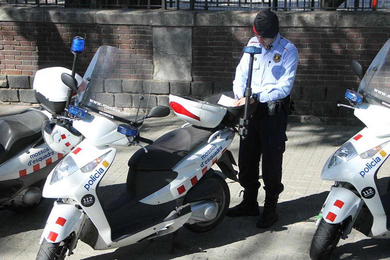 Barcelona. Police