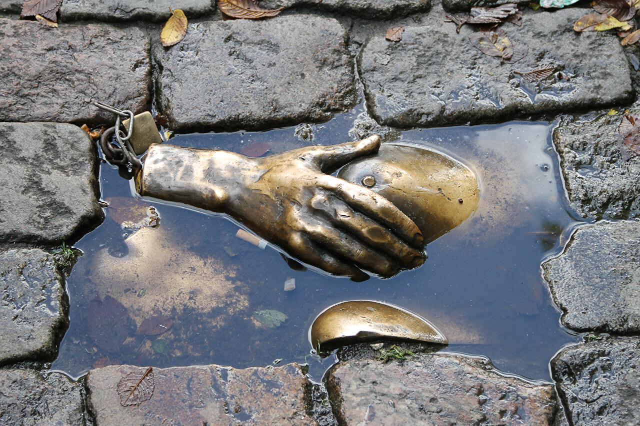 Borstplaat sculpture, Amsterdam