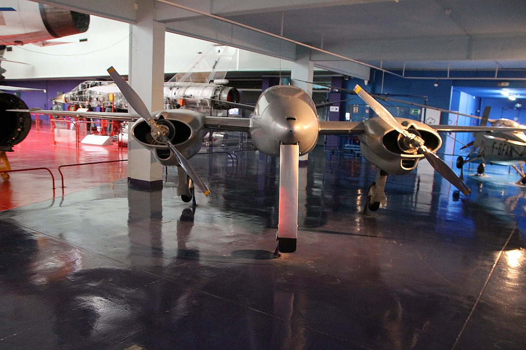 Experimental aircraft Hirsch H. 100, Le Bourget museum
