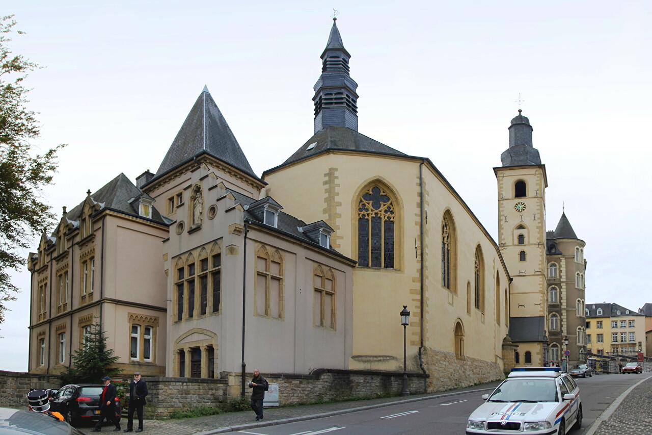 Michaelskirche, Luxembourg