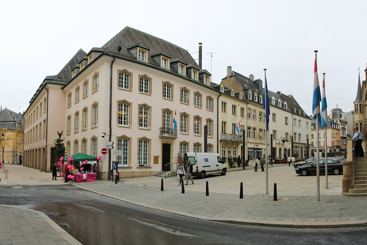 Rue du Marché-aux-Herbes, Luxembourg