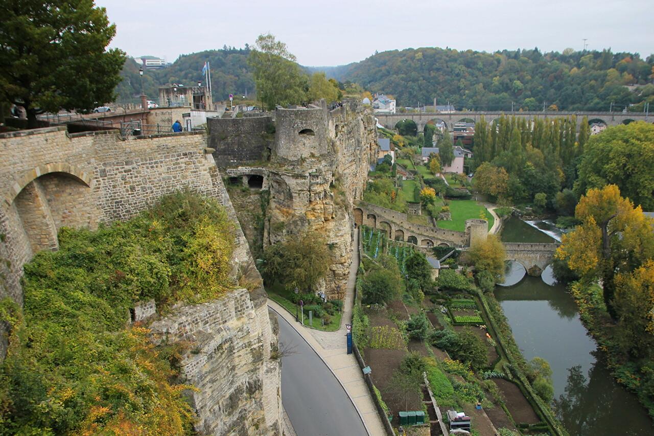 Chemin de la Corniche, Luxembourg