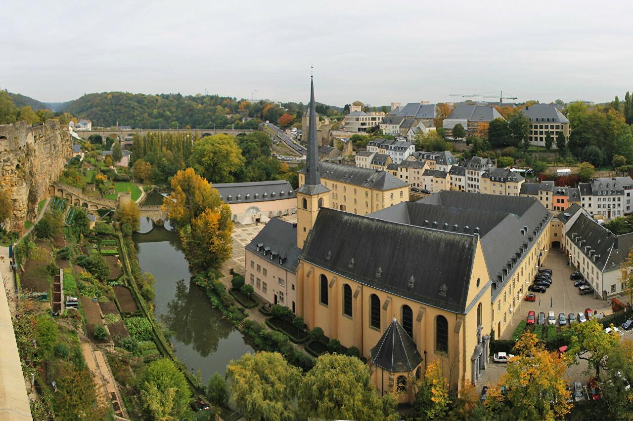 Neumünster Abbey, Luxembourg