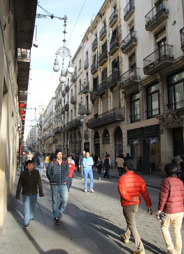 Улица Ферран, Барселона