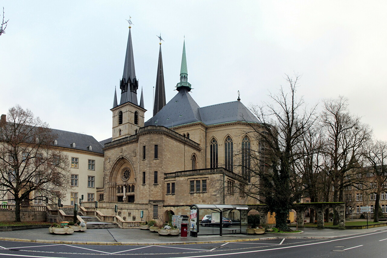 Notre-Dame Cathedral of Luxembourg