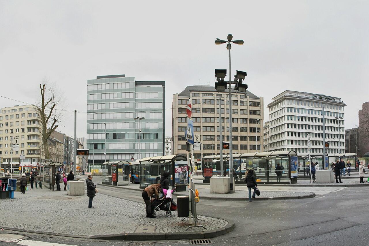 Place Émile-Hamilius, Luxembourg