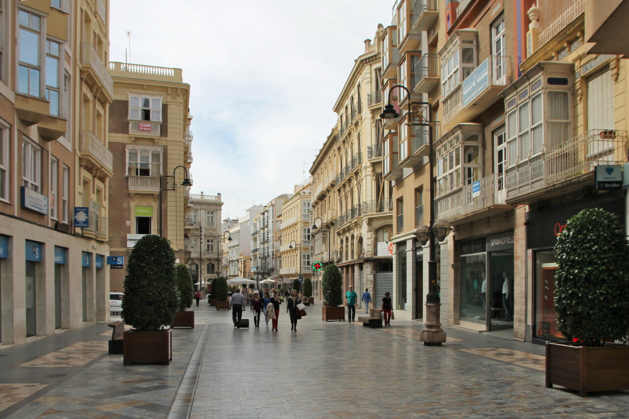 Cartagena in Early May