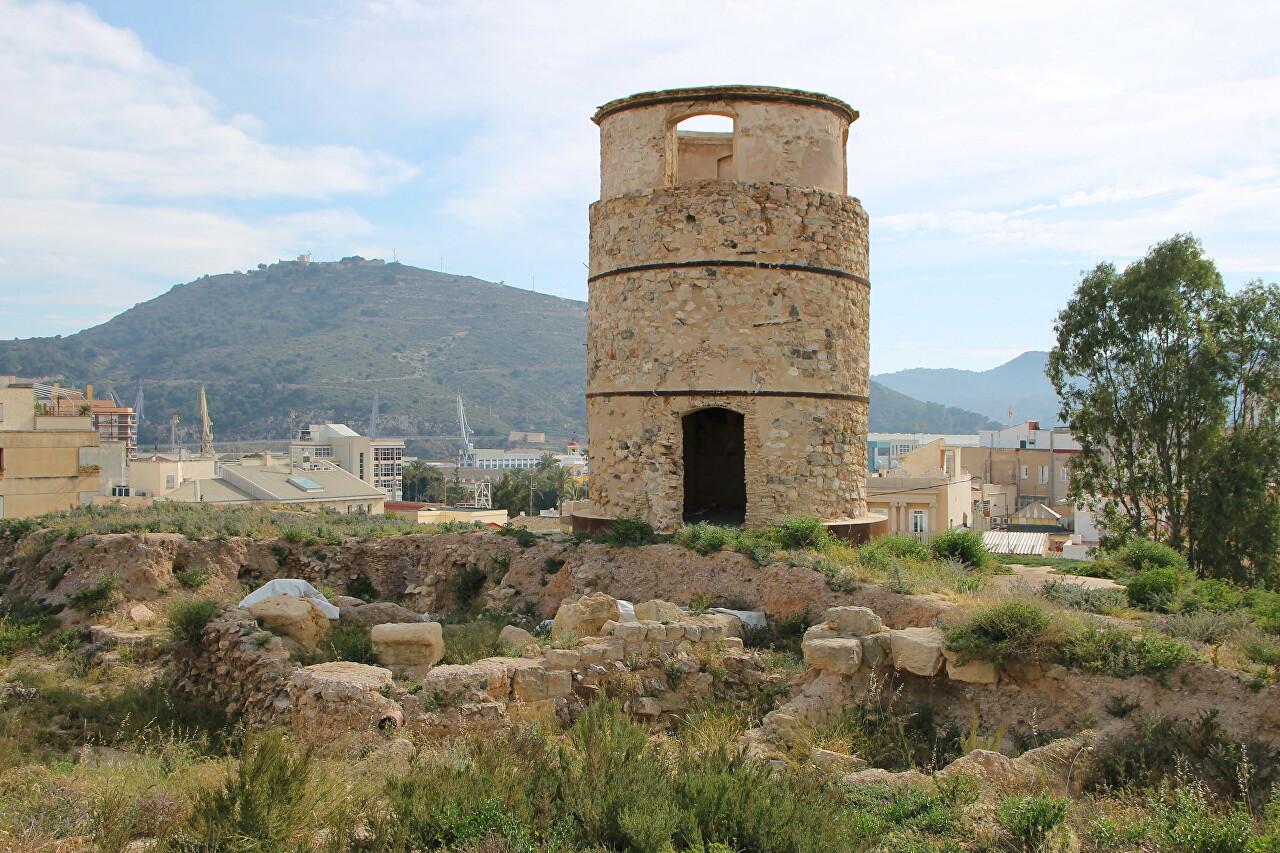 Parque Arqueológico Cerro del Molinete, Cartagena