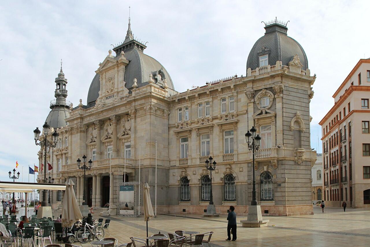 Palacio Consistorial, Cartagena