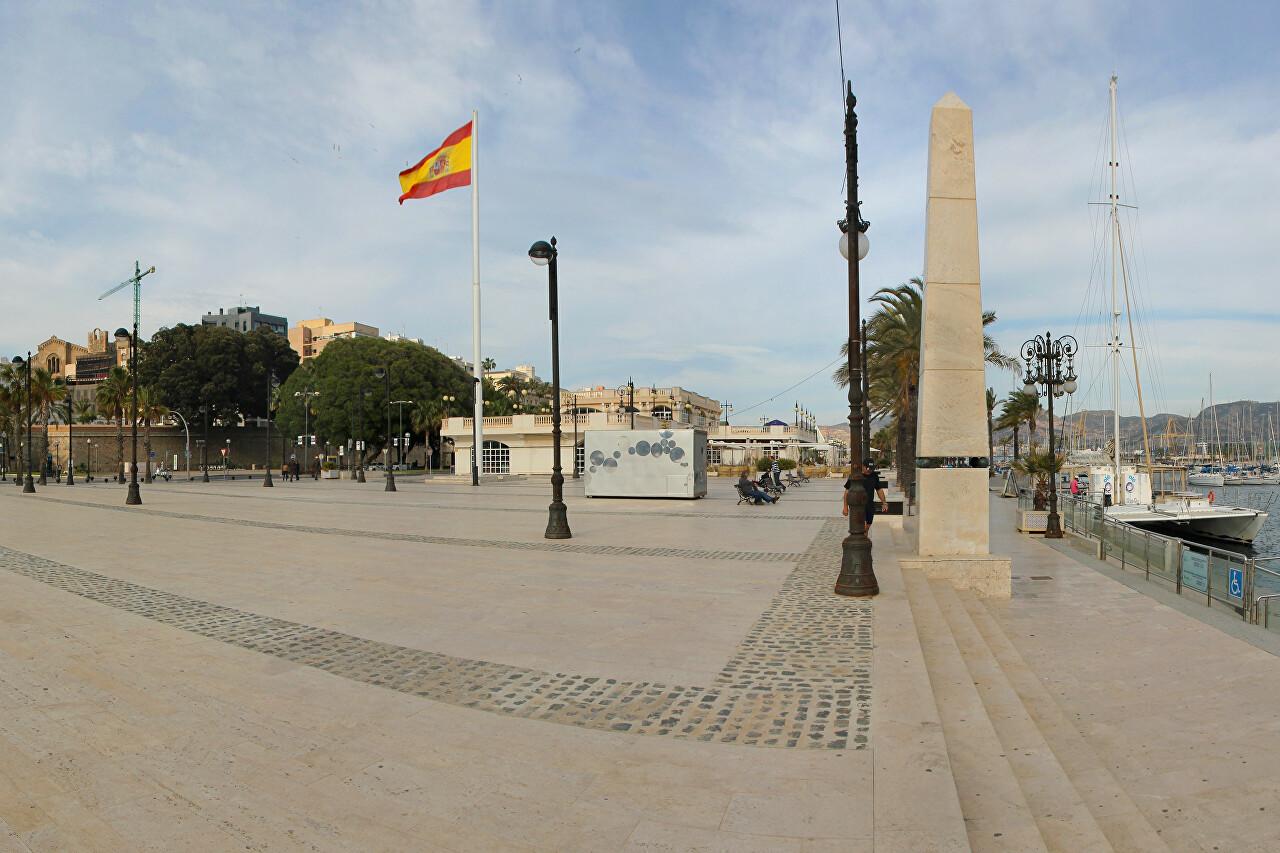 Plaza del Puerto de Cartagena