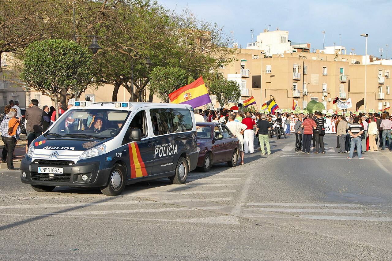 Demonstration Against Rent Increases, Cartagena
