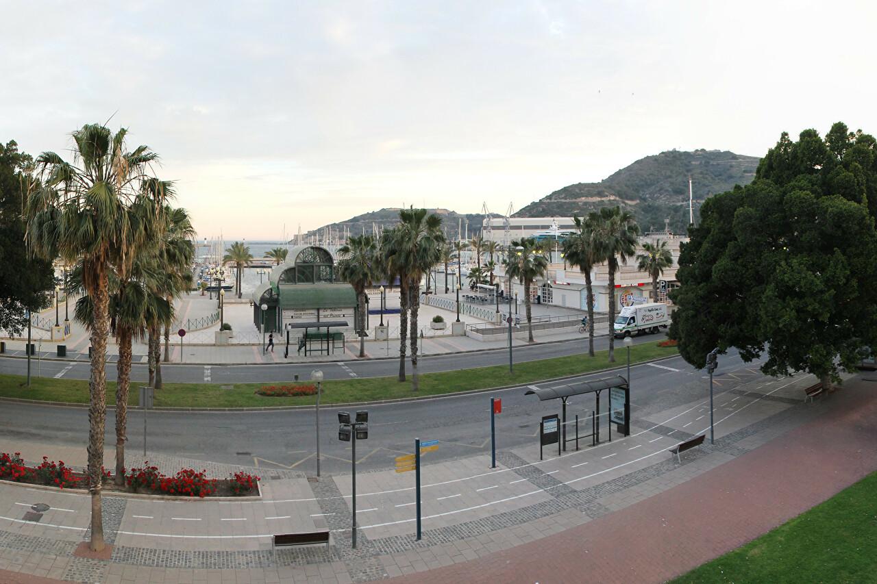 Paseo Alfonso XII, Cartagena
