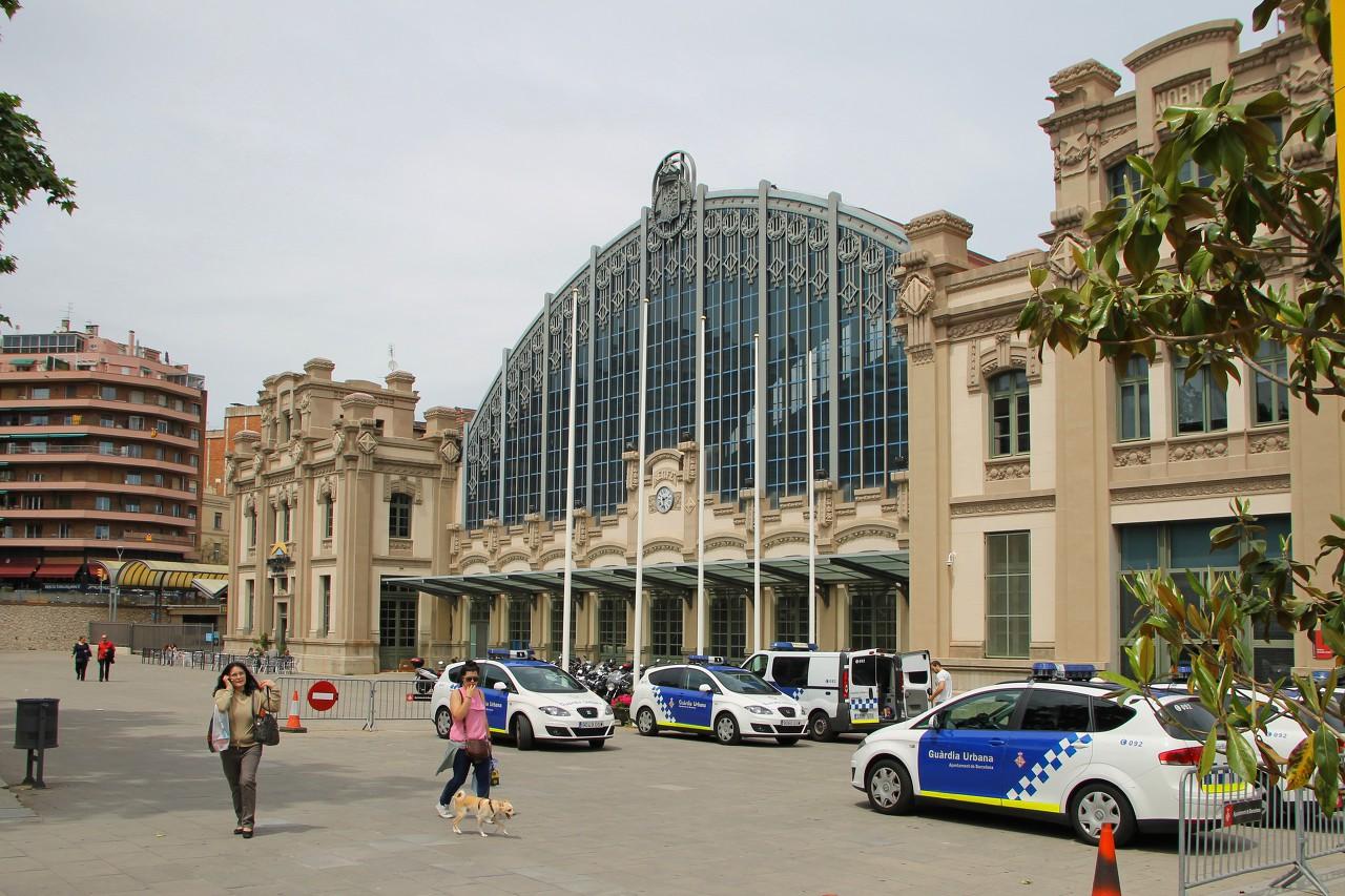 Северный вокзал, Барселона