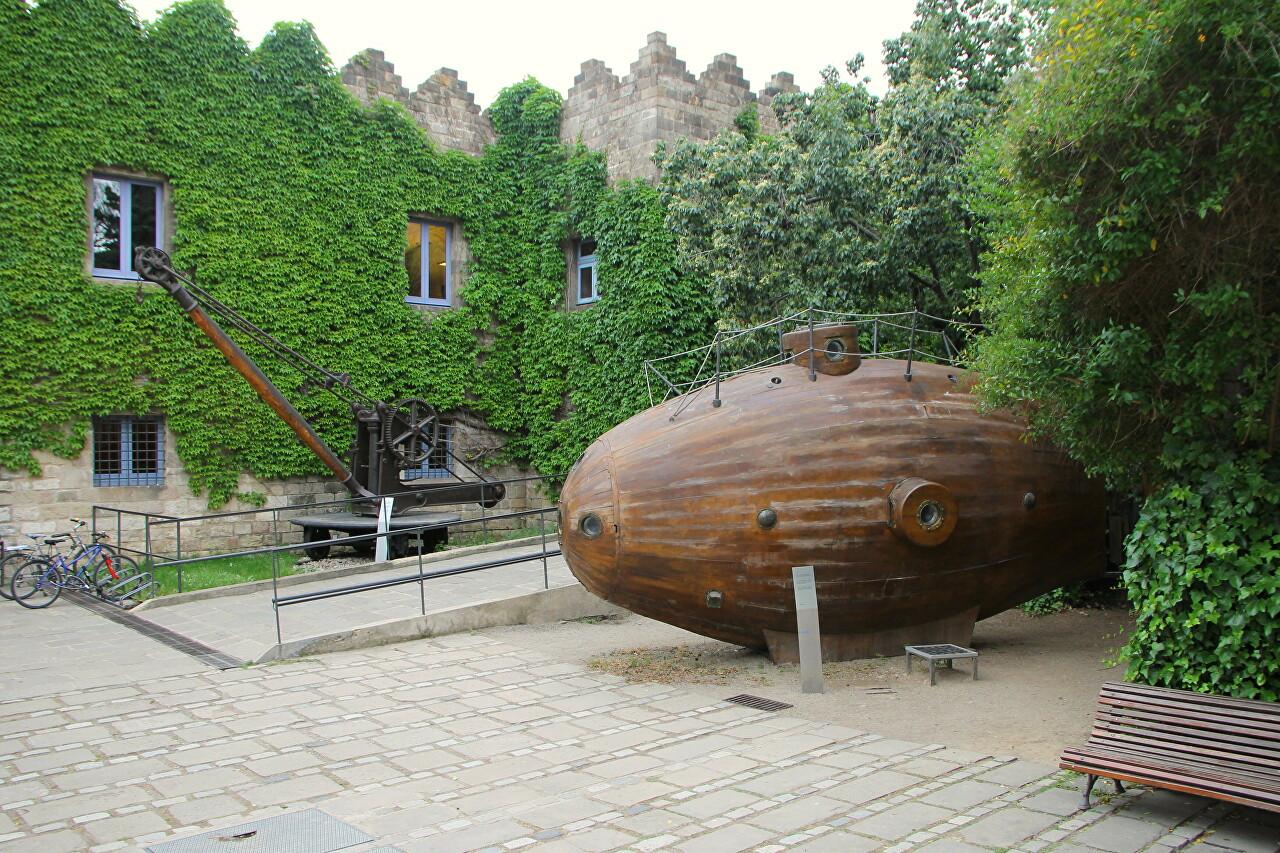 Подводная лодка Ictineo I