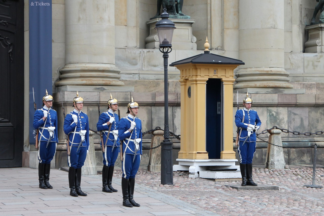 Royal guards, Stockholm