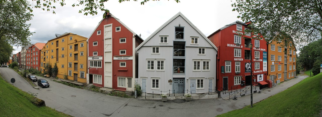 Trondheim. Panoramic photo