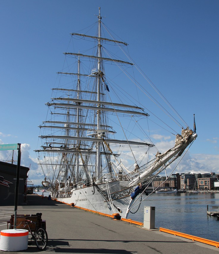 Christian Radich sailship in Oslo