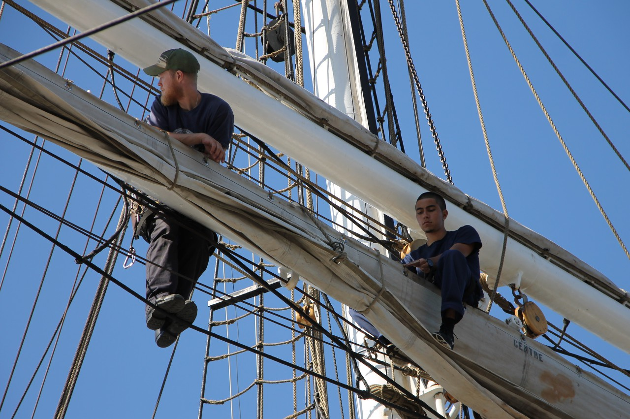 Christian Radich training sailing ship in Oslo