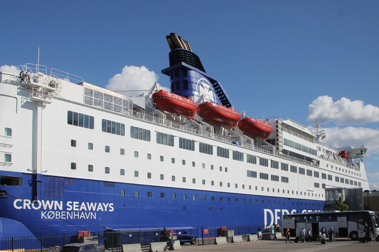 Паром DFDS Crown Seaways, Осло
