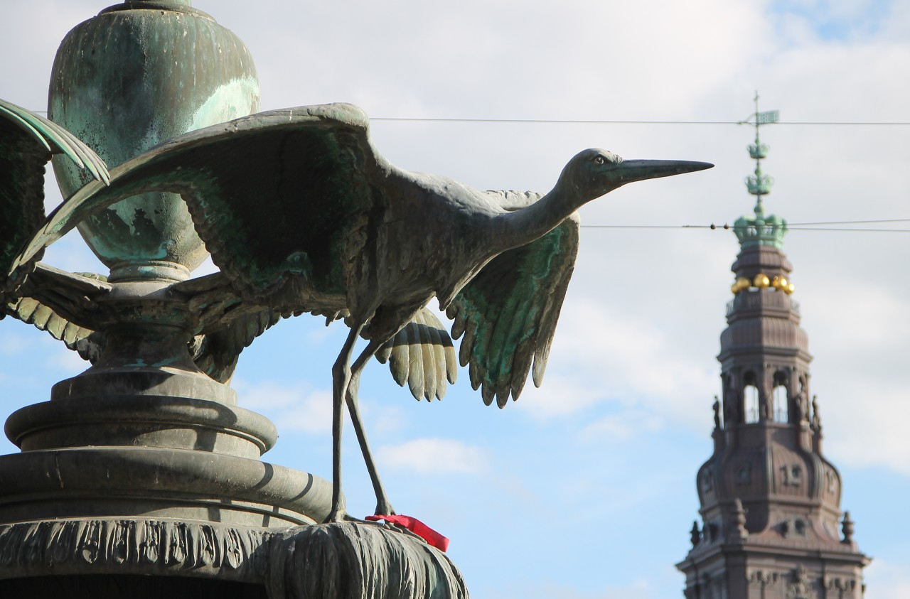 The Stork Fountain, Copenhagen
