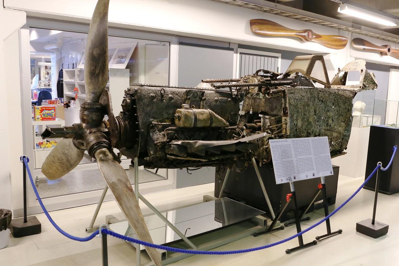 Messerschmitt  BF109 G-2, Vantaa