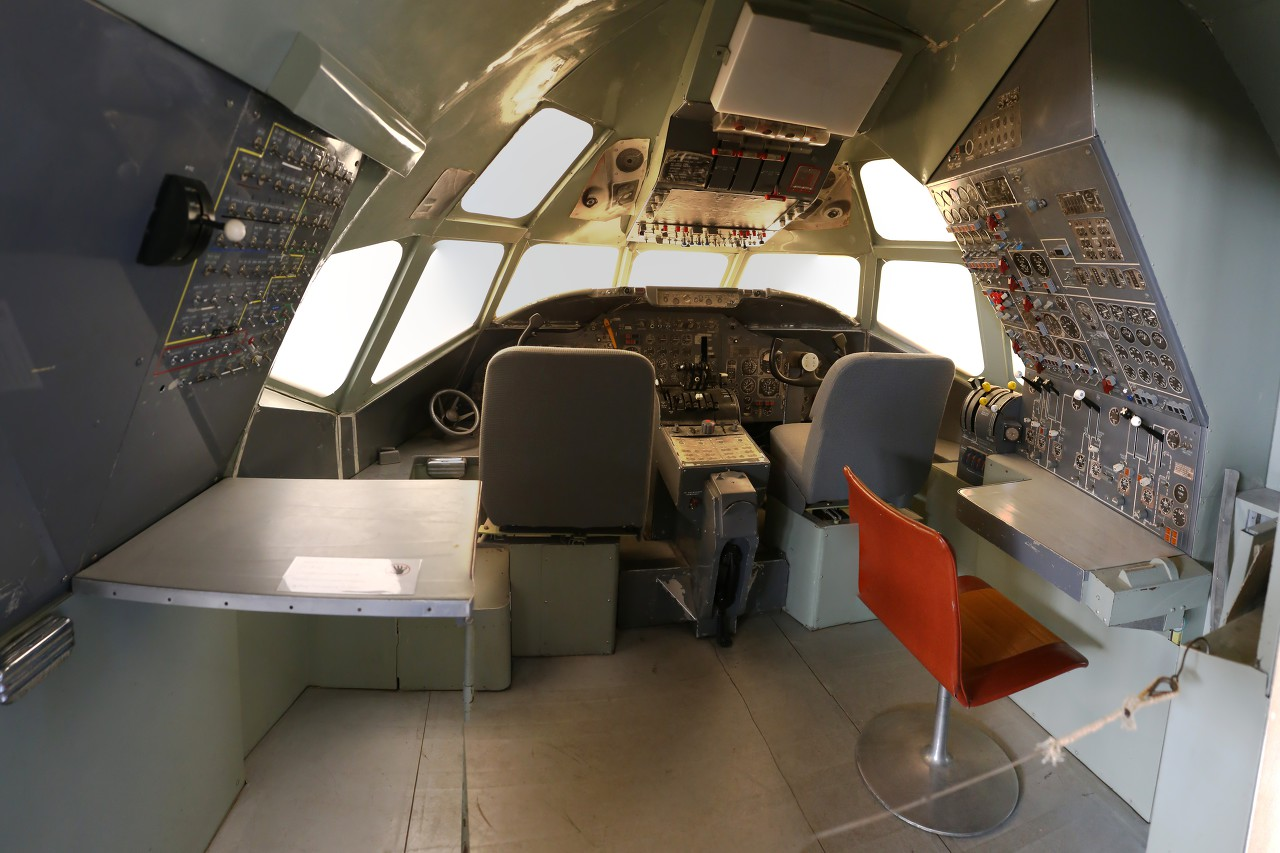 Aviation training simulators, Vantaa museum