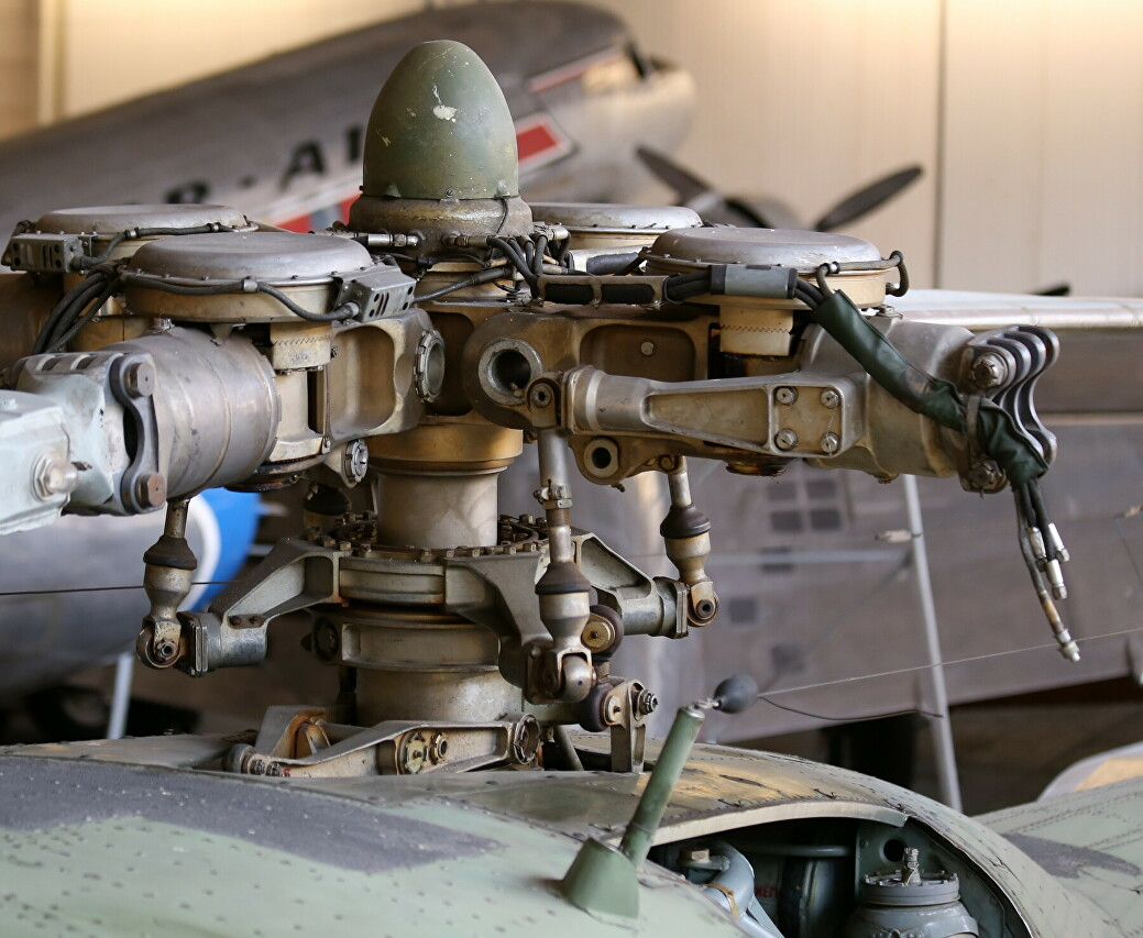 Main reduction gear of Mil Mi-4A helicopter, Vantaa
