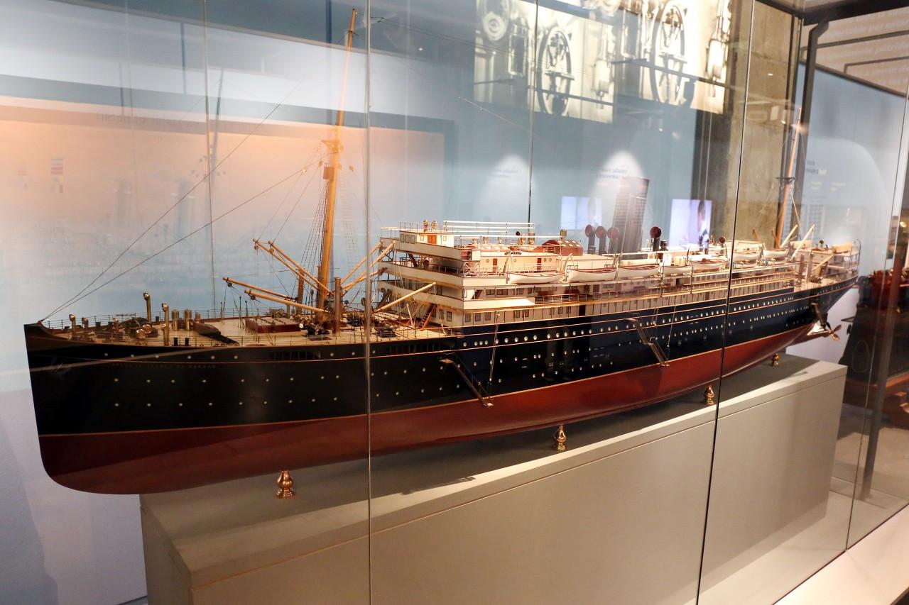 Пассажирский пароход начала 20 века