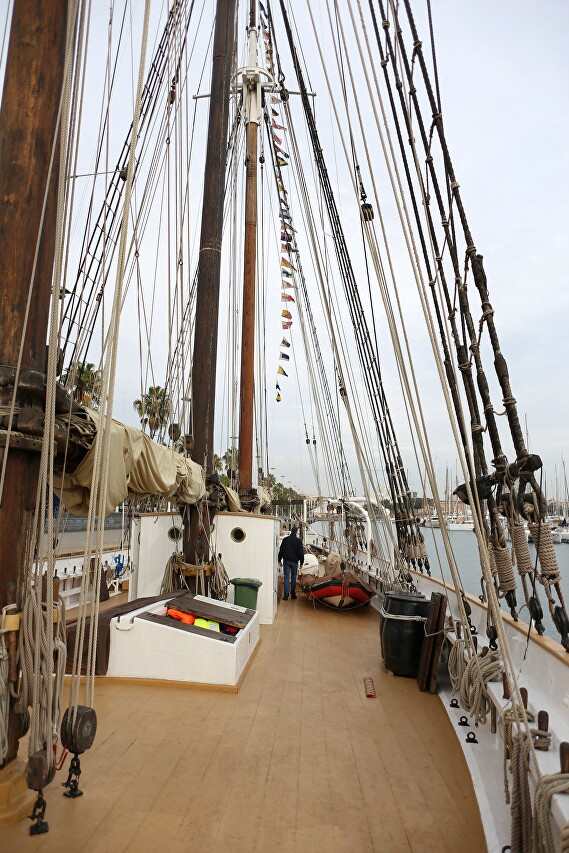 Santa Eulalia schooner, Barcelona