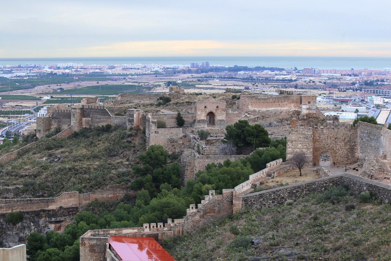Крепость Сагунто, Алькасаба