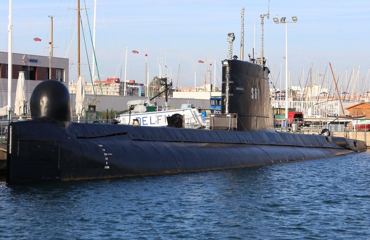 Подводная лодка S-61 'Дельфин'. Торревьеха