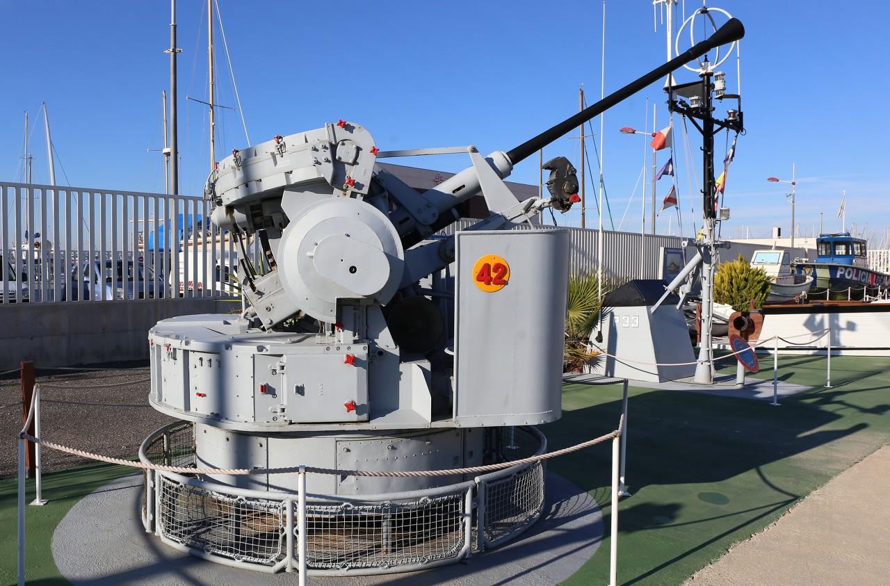 Bofors L/70 Automatic Gun, Torrevieja