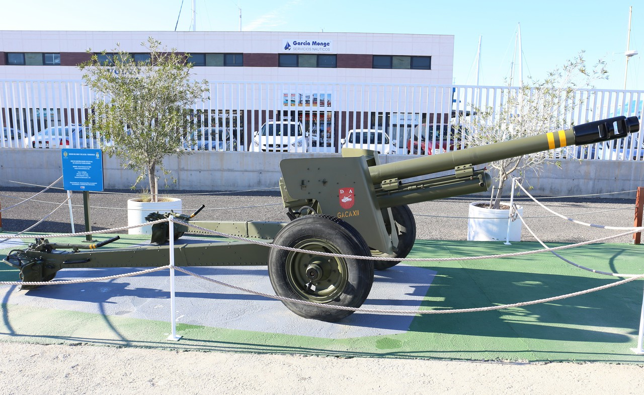 Obús 105/26 howitzer, Torrevieja