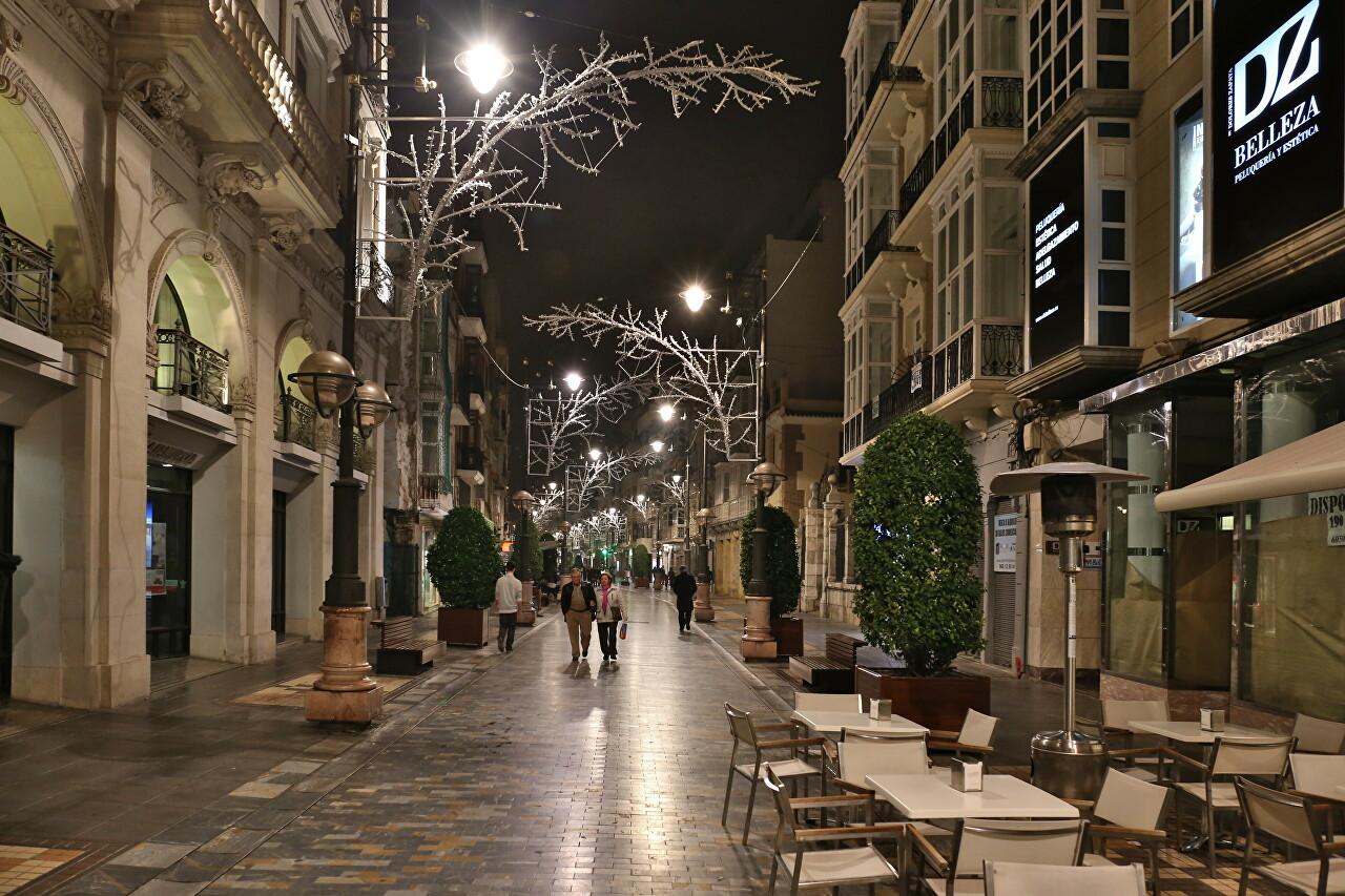 Winter Eveneing in Cartagena