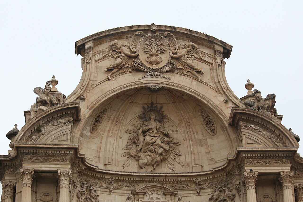 Murcia Cathedral Architecture and Decor