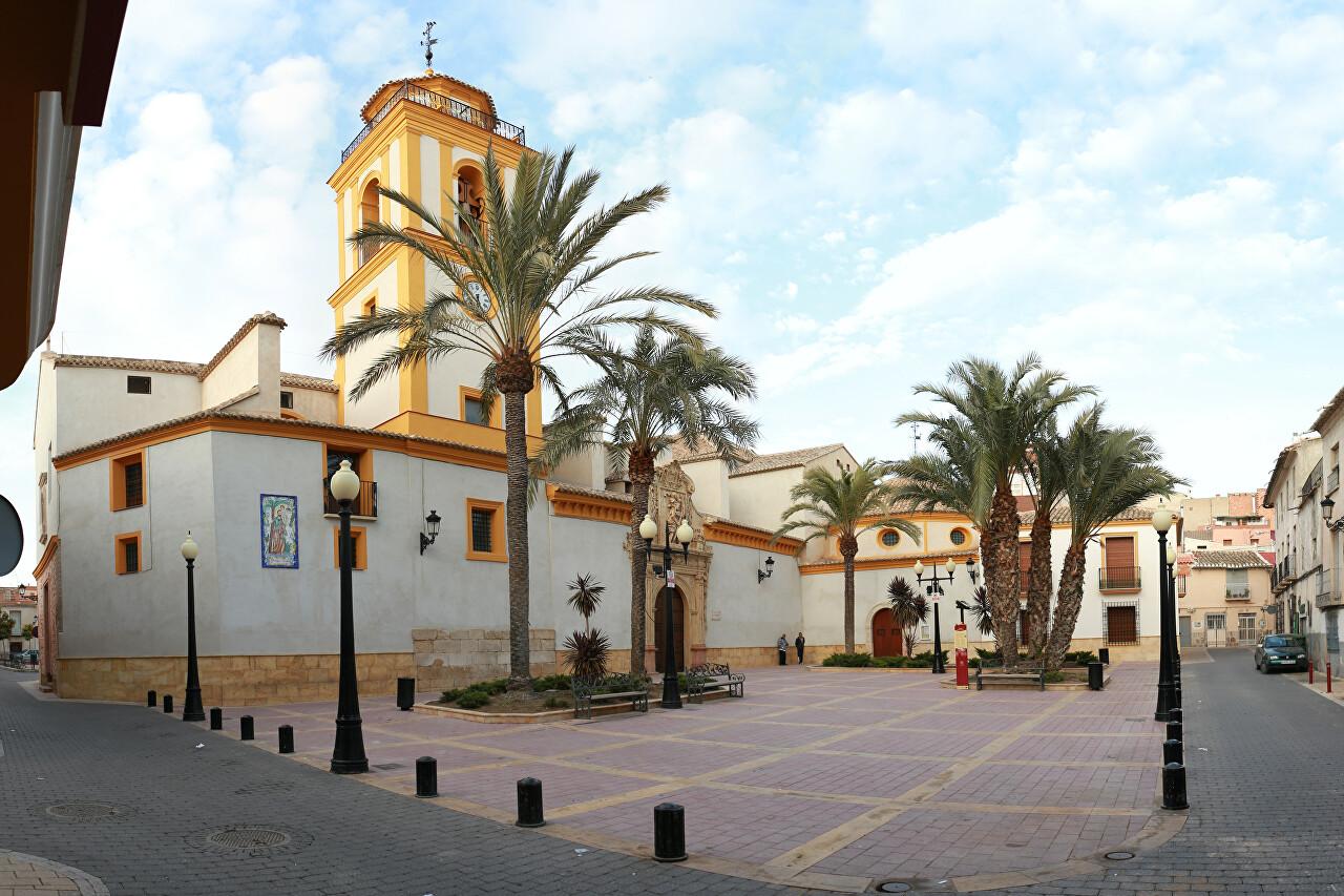 San Cristóbal Quarter, Lorca