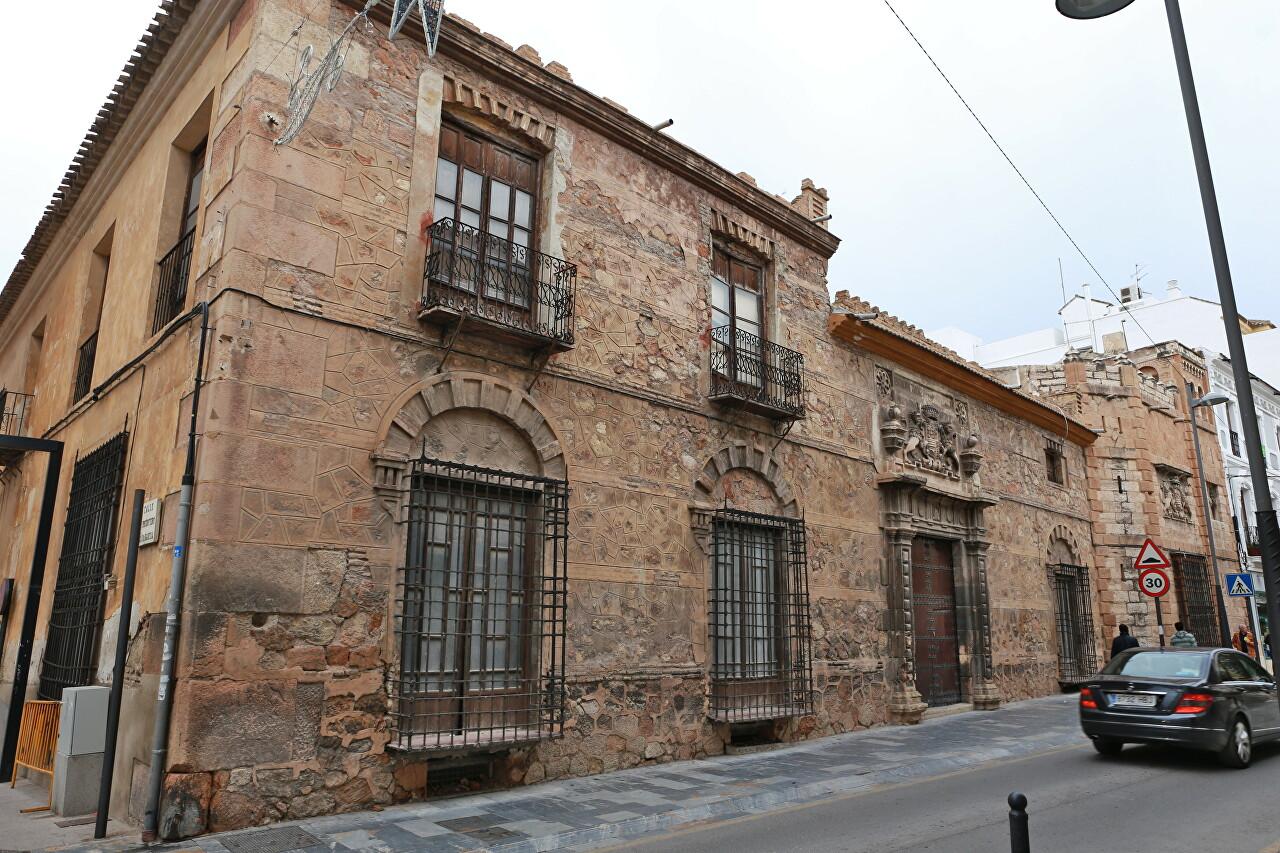 Palacio de Los Condes de San Julián, Lorca