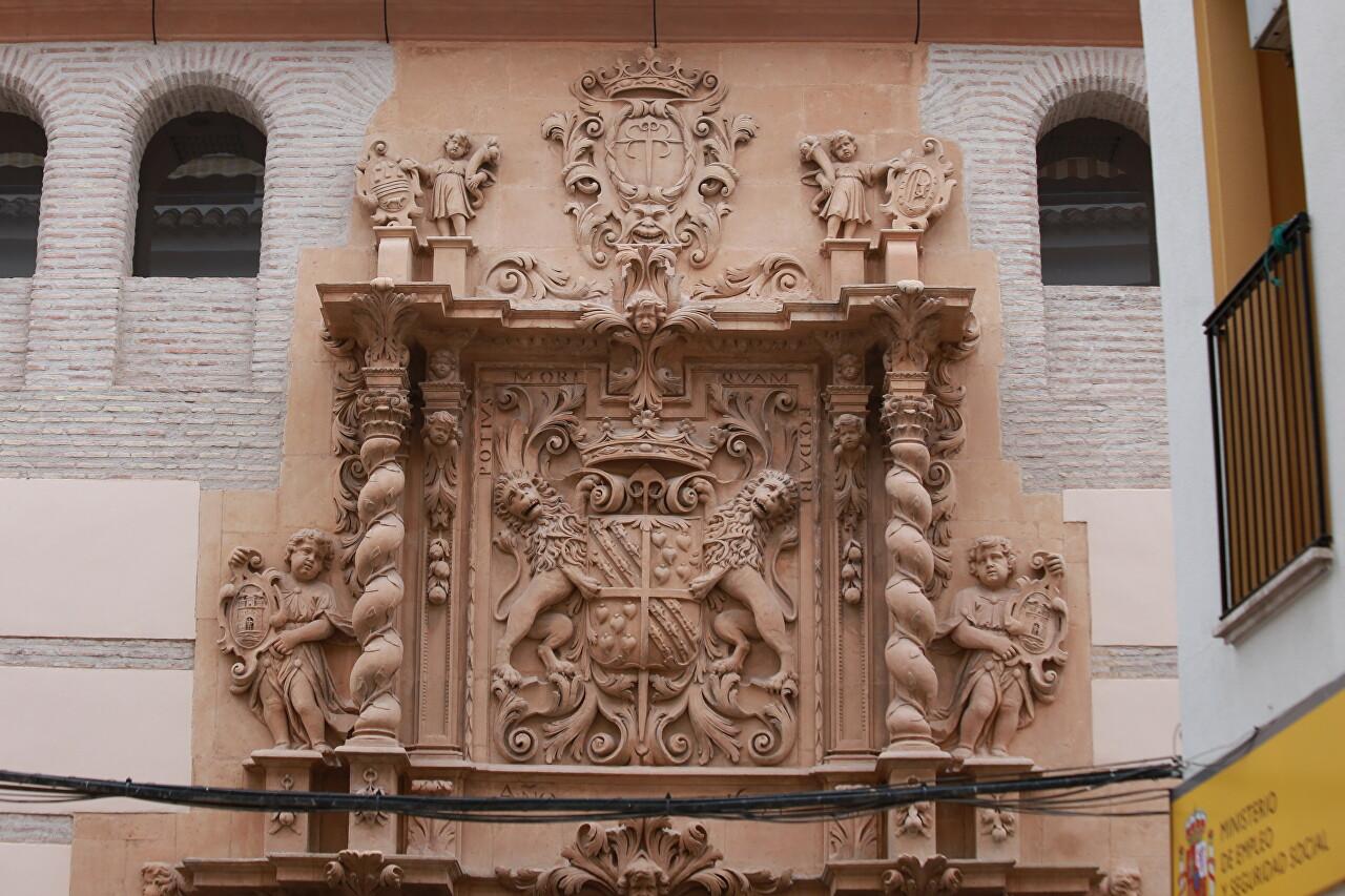 Palacio Guevara, Lorca