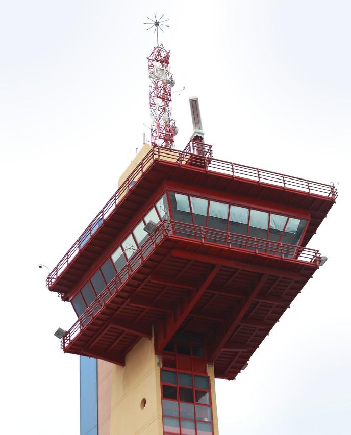 Almería port control tower