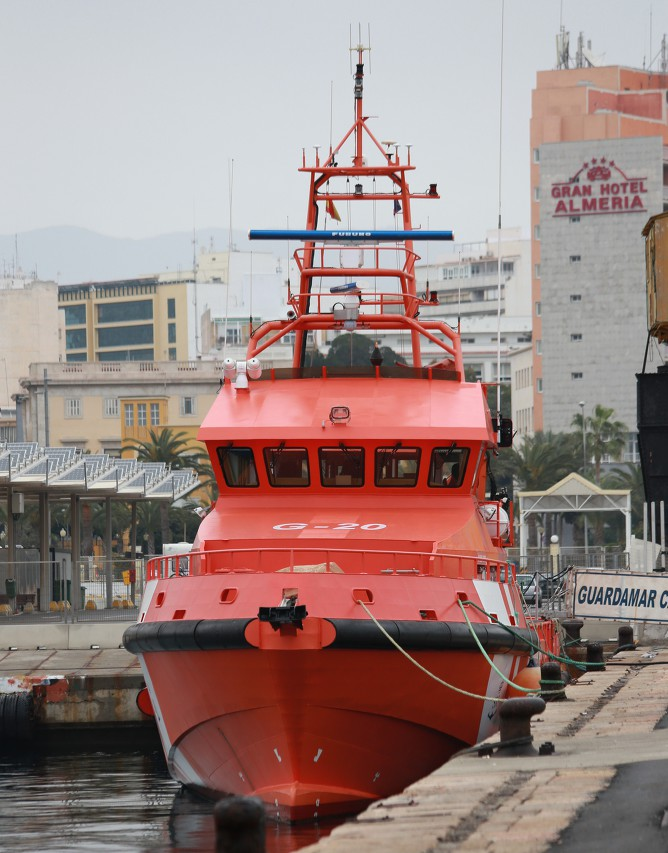 Almería ferry port