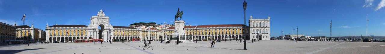 Lisbon. Praça do Comércio
