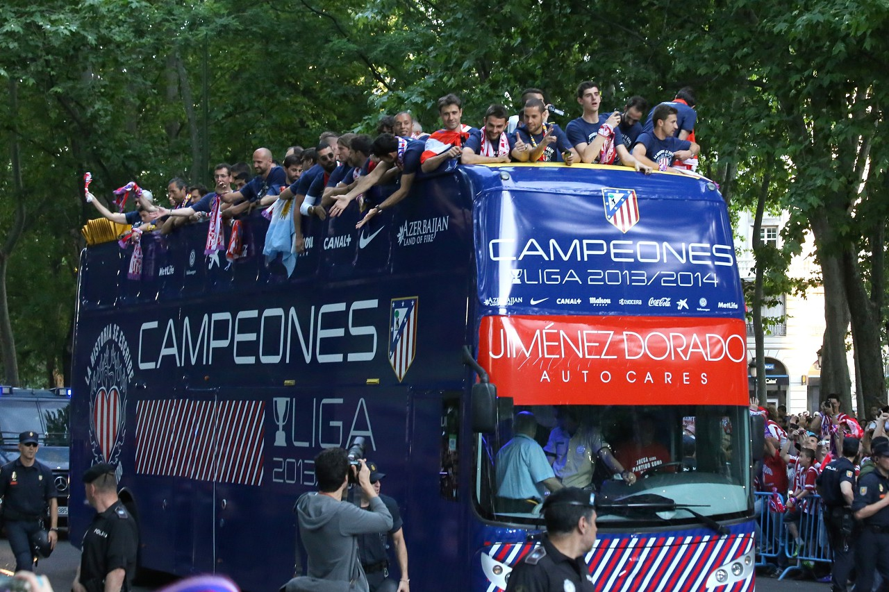 Atletico Madrid champion of Spain 2014
