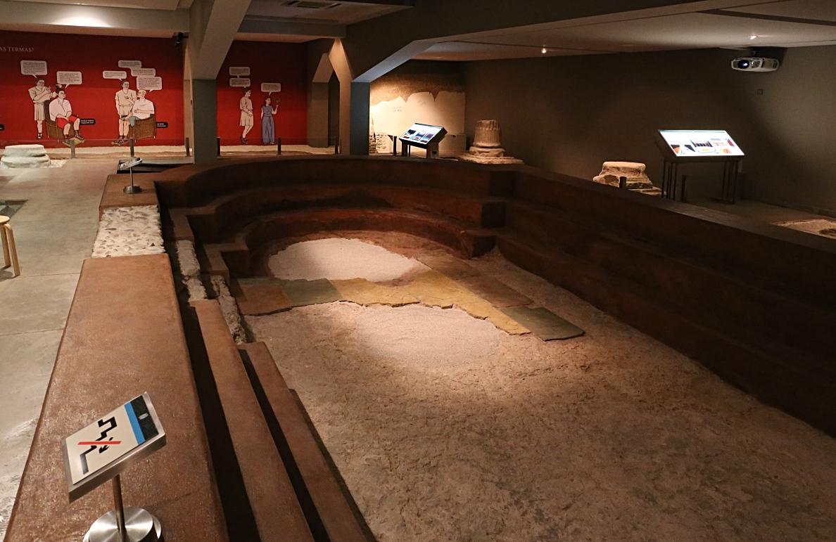 Roman baths, Zaragoza
