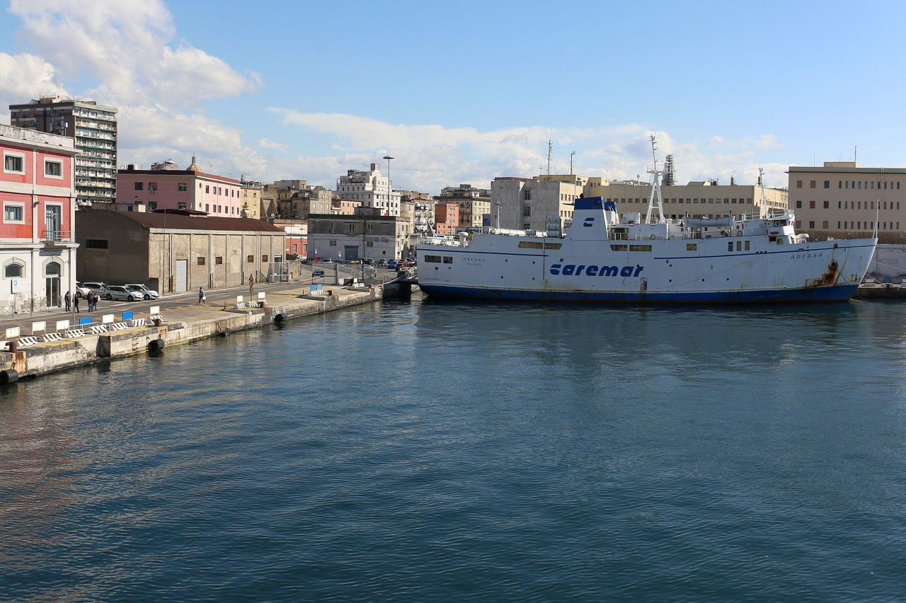 Naples ferry dock (Calata Porta di Massa)