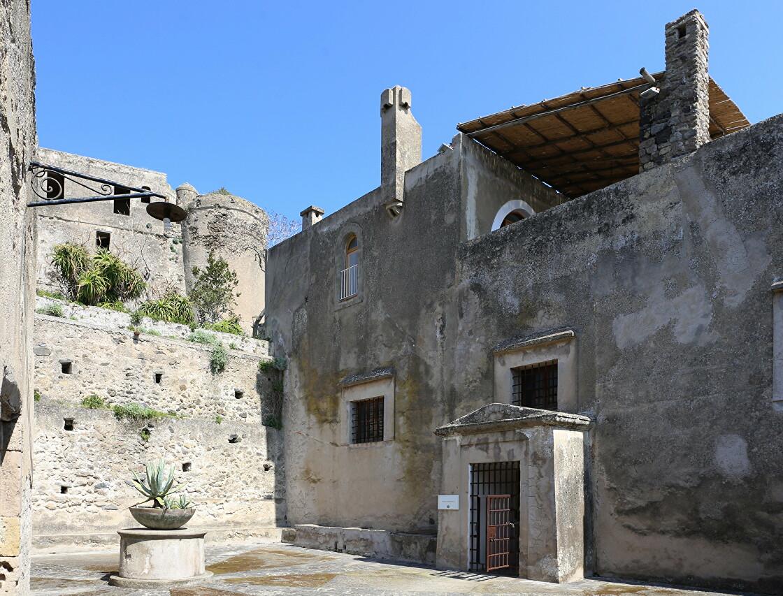 The Bourbon prison, the Aragonese castle